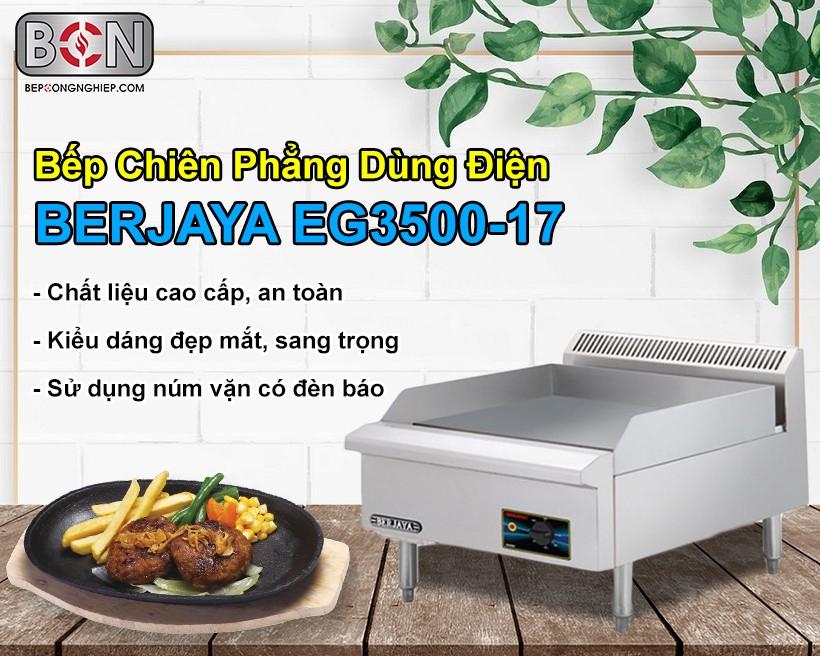 Bếp chiên phẳng dùng điện Berjaya New 1