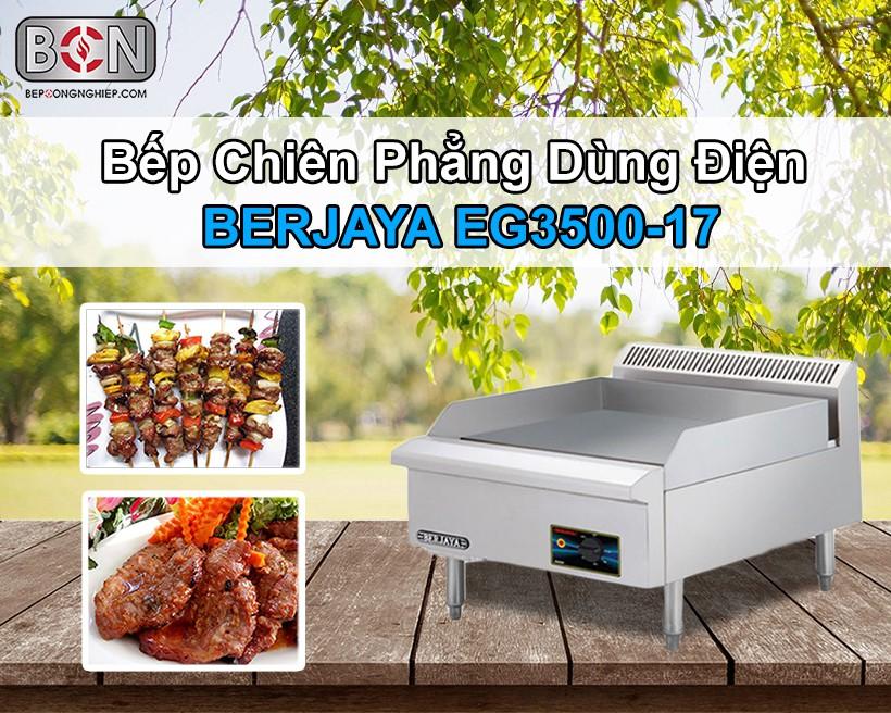 Bếp chiên phẳng dùng điện Berjaya New