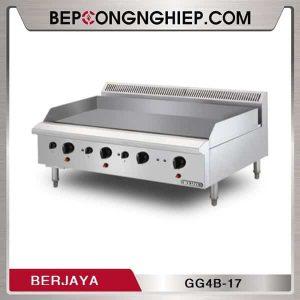 Bếp Chiên Phẳng Dùng Gas 4 Họng Berjaya GG4B-17