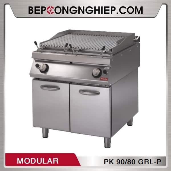 Bếp Nướng Than Đá Dùng Gas Modular PK 90/80 GRL-P