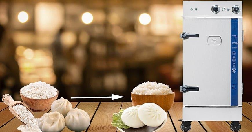 cách tiết kiệm điện hiệu quả với tủ nấu cơm công nghiệp