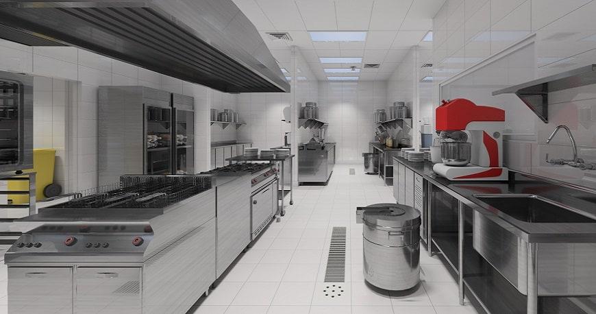 bếp công nghiệp inox