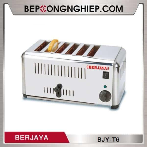 Lò Nướng Bánh Mì 6 Ngăn Berjaya BJY-T6 Dùng Điện