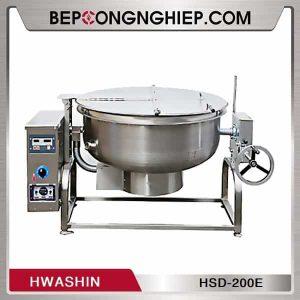 Nồi Hầm Tay Quay Dùng Gas Hwashin HSD-200E
