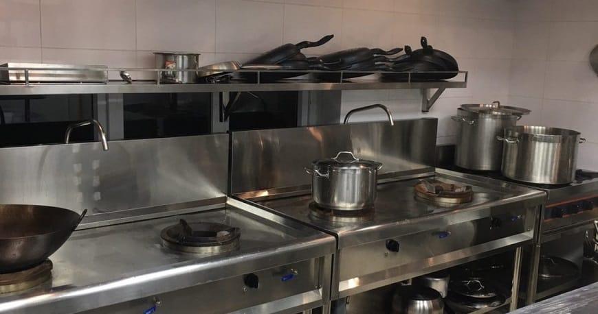 thiết bị bếp công nghiệp đã qua sử dụng