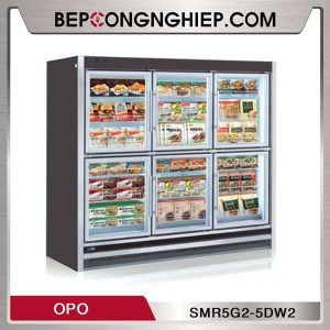 Tủ Đông Cửa Kéo Nhiều Ngăn Reach-In OPO SMR5G2-5DW2