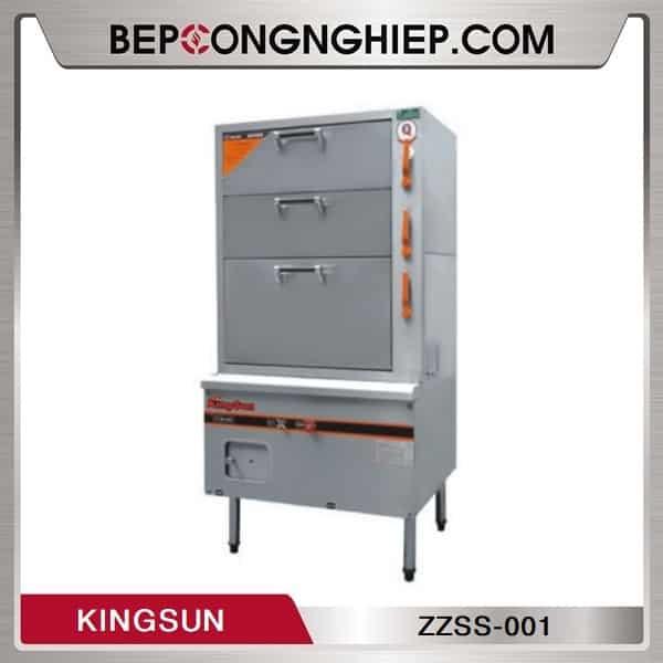 Tủ Hấp 3 Cửa Dùng Gas Kingsun ZZSS-001