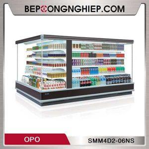 Tủ Mát Trưng Bày Dạng Mở Loại Góc Chéo OPO SMM4D2-06NS