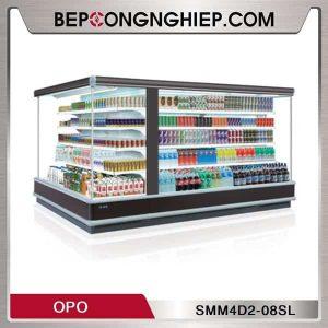 Tủ mát trưng bày dạng mở loại góc chéo OPO SMM4D2-08SL