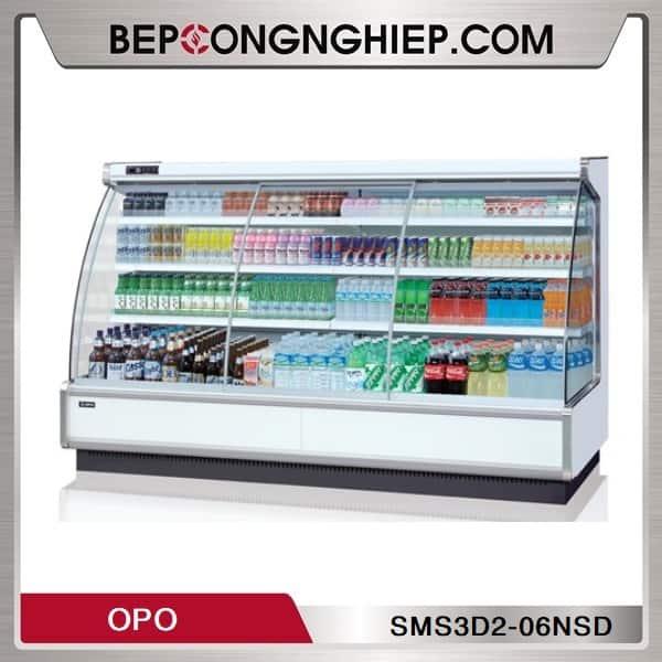 Tủ Mát Trưng Bày Đồ Uống Dạng Mở Nhiều Ngăn OPO SMS3D2-06NSD