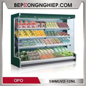 Tủ Mát Trưng Bày Rau Củ Dạng Mở OPO SMMUV2-12NL