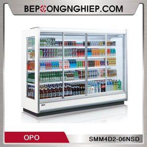 Tủ Mát Trưng Bày Thức Uống Dạng Cửa Trượt OPO SMM4D2-06NSD