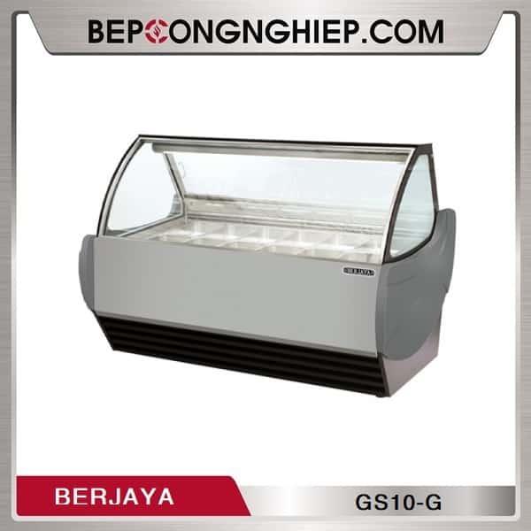 Tủ Trưng Bày Kem 10 Khay Berjaya