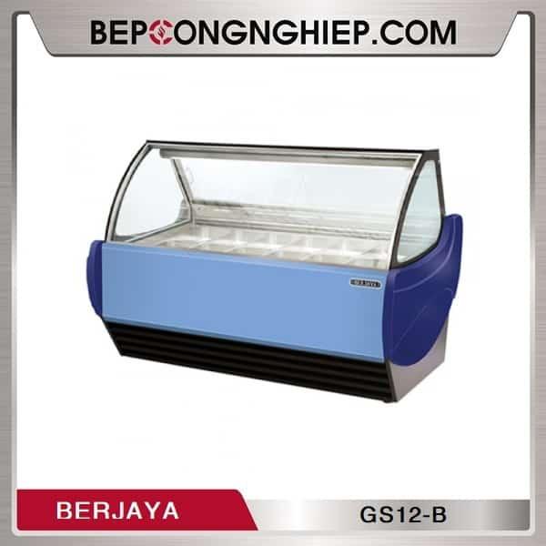 Tủ Trưng Bày Kem 12 Khay Berjaya