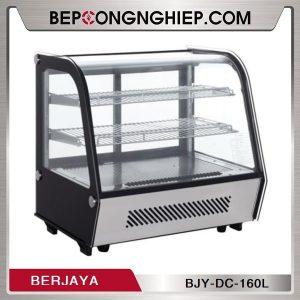 Tủ Trưng Bày Kính Cong Berjaya BJY-DC-160L