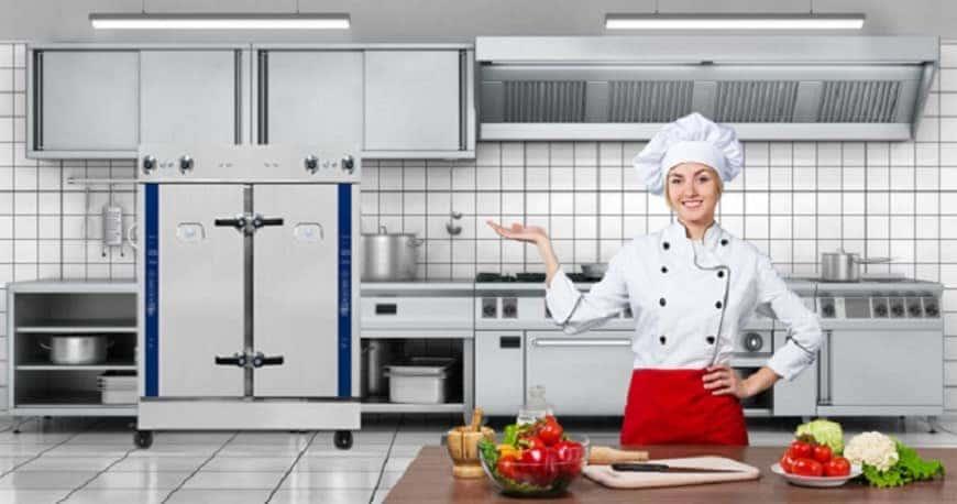 xây dựng bếp ăn công nghiệp đúng tiêu chuẩn