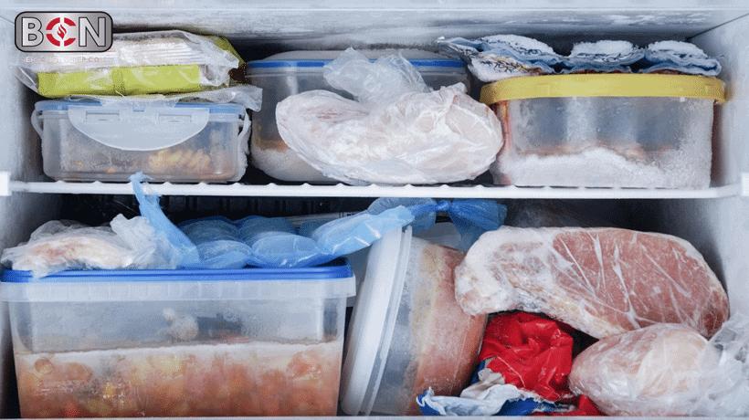 lỗi thường gặp tủ đông bị chảy nước