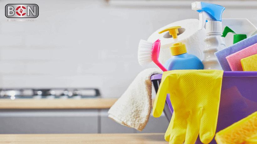 vệ sinh sử dụng bếp nướng điện
