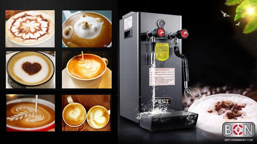 máy nấu nước nóng mini áp suất cao fest