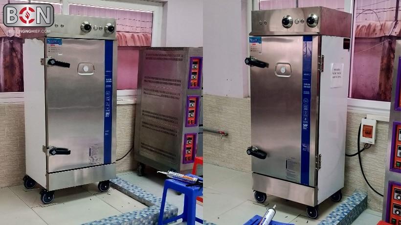 4 khác biệt của tủ hấp cơm công nghiệp hải âu