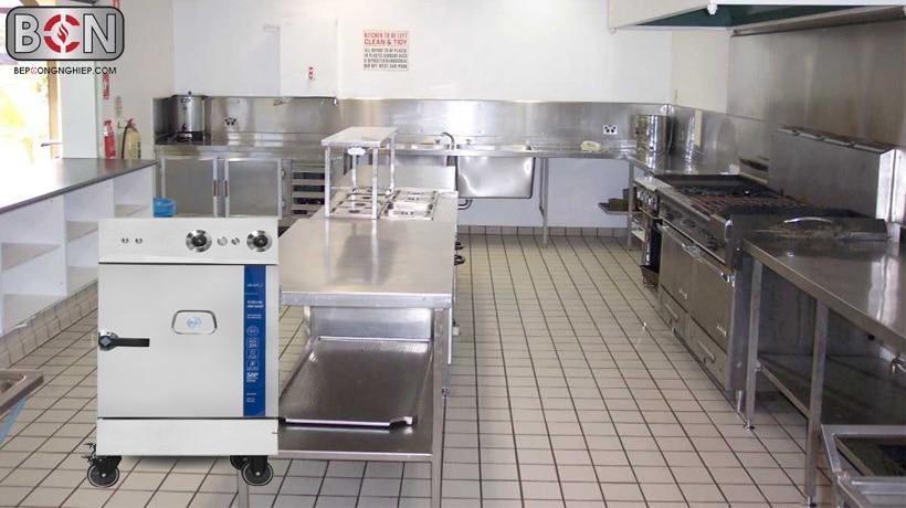 bếp ăn hiện đại và thiết bị nhà bếp, tủ cơm