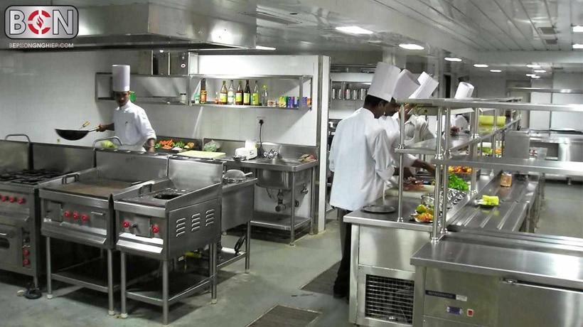 bếp ăn hiện đại và xu hướng thiết bị nhà bếp