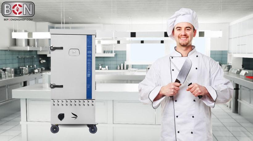 tủ cơm công nghiệp thay đổi bếp ăn công nghiệp