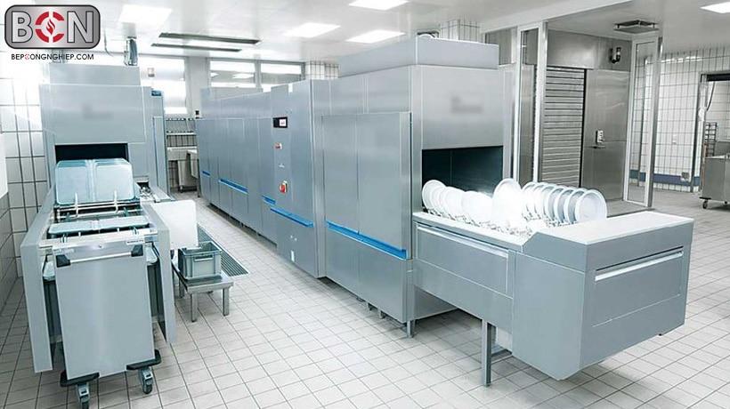 ứng dụng máy rửa bát công nghiệp dolphin