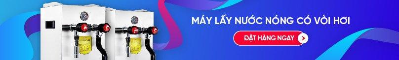 may lay nuoc nong